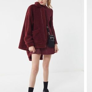 UO Mock Neck Sweater Dress